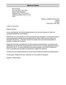 Modele Lettre De Motivation Barman Exemple De Lettre De Motivation Mod 232 Le De Lettre De Motivation Livecareer