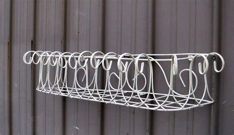 wire window box planter wrought iron country wire window boxes