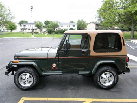 1995 Jeep Wrangler Review 1995 Jeep Wrangler Pictures Cargurus