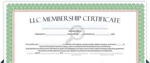 certificate of partnership template llc membership certificate free limited liability