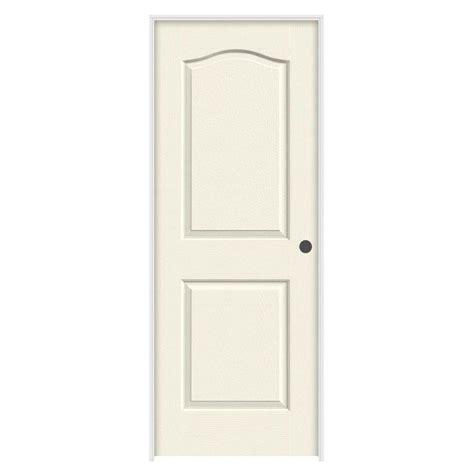 Prehung Hollow Interior Doors by Jeld Wen 36 In X 80 In Molded Smooth 2 Panel Eyebrow
