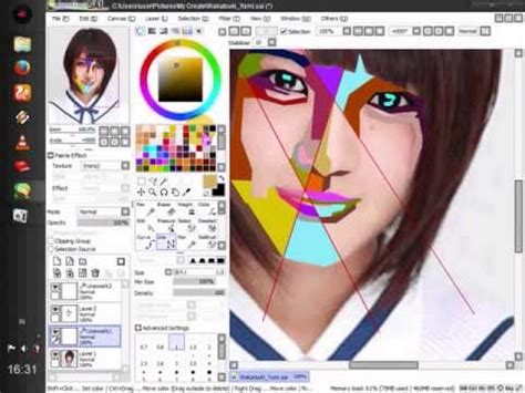youtube membuat wpap membuat wpap dengan paint tool sai youtube