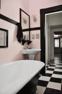 Pink And Black Bathroom Ideas by Spectacularly Pink Bathrooms That Bring Retro Style Back