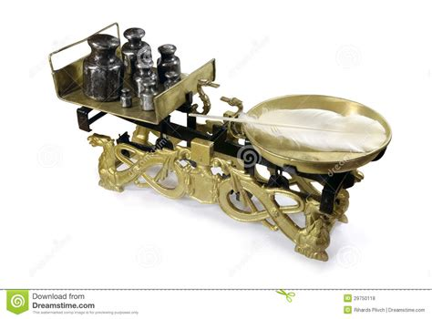 Fashioned Scales Fashioned Weighing Scales Royalty Free Stock Photos