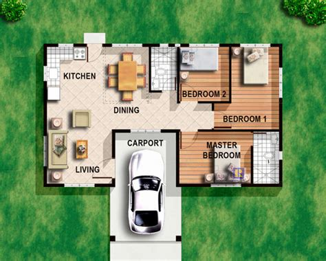 small house design with floor plan philippines modern 3 bedroom house plans modern house