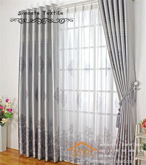 Shade Curtains For Living Room Aliexpress Buy Blackout Window Curtain Sun Shading