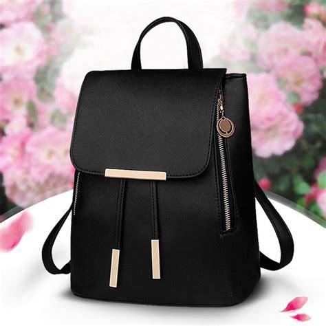 Longch Backpack Fashion Uk S fashion backpack travel shoulder bag rucksack pu leather uk ebay