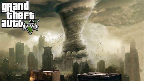 biggest tornado ever gta 5 mods quot tornado mod quot gta 5 tornadoes vs city mod