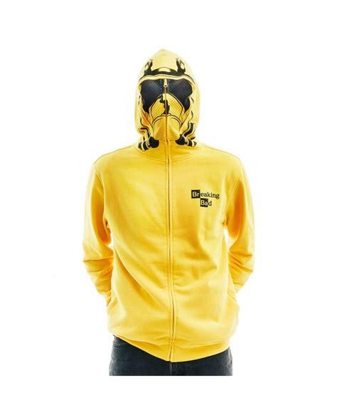 breaking bad hazmat suit zip up hoodie