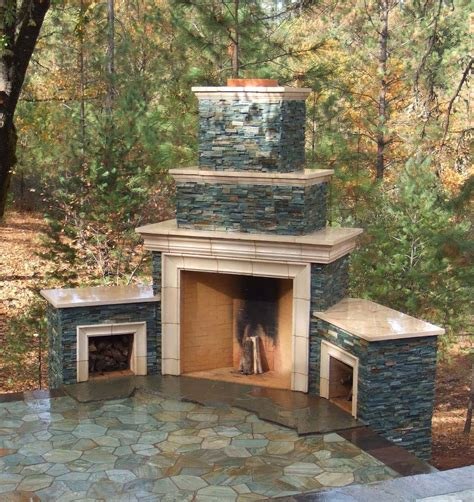 small backyard fireplace small outdoor stone fireplace pictures to pin on pinterest