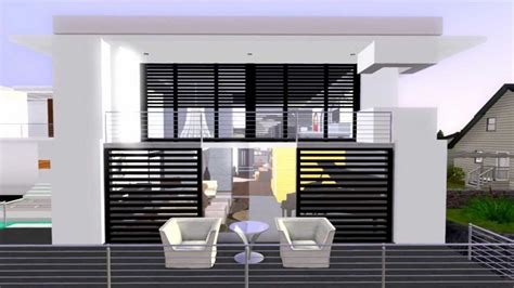 Celebrity Interior Homes the sims 3 modern house california costal youtube
