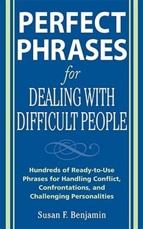 difficult books phrases for dealing with difficult