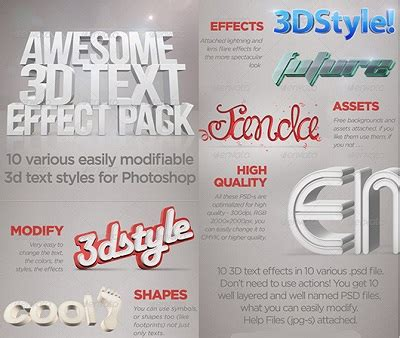 Paket Graphicriver graphicriver 3d text effects photoshop 187 warezturkey program indir indir oyun indir