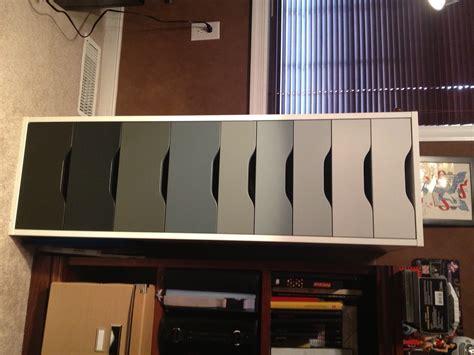 ikea black alex drawers ikea alex with ombre drawers cannedicecreative