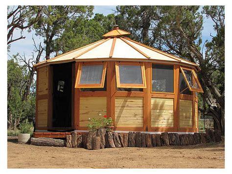 Small Home Kits Arizona Wood Yurt Kits
