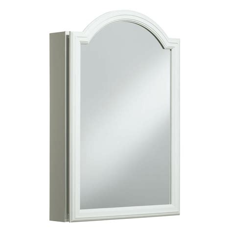 medicine cabinet doors kohler devonshire 20 in w x 29 5 h x 5 25 in d single door recessed or surface mount medicine
