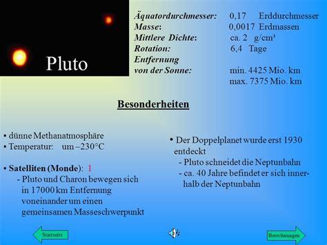 wann wurde pluto entdeckt h i n w e s unser planetensystem unser planetensystem