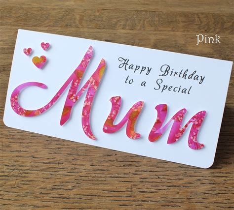birthday card ideas for mom homemade birthday card ideas for mom from daughter