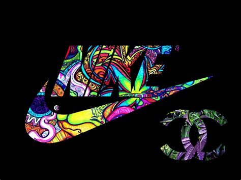 nike sneakers women swaggy psychedelic wallpapers hd