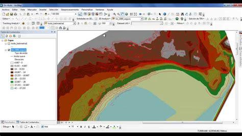 tutorial tin arcgis crear superficie terreno 3d tin arcgis 10 espa 241 ol youtube