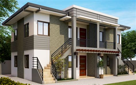2 storey apartment floor plans philippines apd 2013001 pinoy eplans