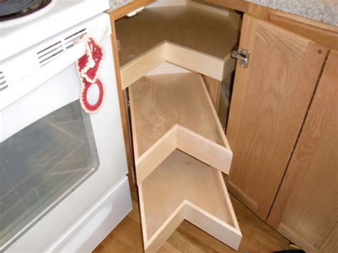 lazy susan organizer for kitchen cabinets corner unit lazy susans glide arounds portland by