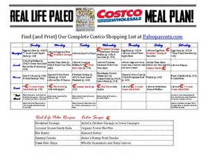 your real life paleo costco shopping guide amp meal plan