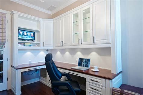Custom Built Desks Home Office 26 Home Office Designs Desks Shelving By Closet Factory
