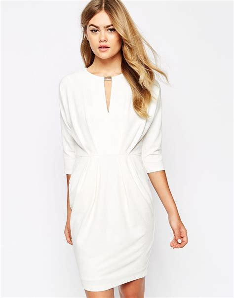 Asos Robe Blanche Courte - asos robes manches longues