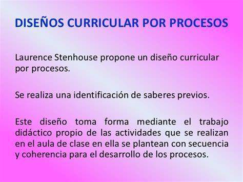 Modelo Curricular Que Propone Stenhouse 3 procesos curriculares 1