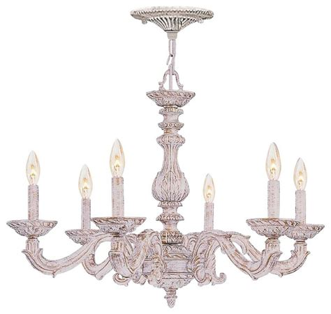 Crystorama 5224 Aw Rosa Sutton 4 Light Mini Chandelier In Antique White Traditional Sutton 28 Quot Wide Antique White And Gold Chandelier Farmhouse Chandeliers By