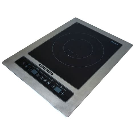 5 Burner Induction Cooktop Equipex Dric 2500 Drop In Commercial Induction Cooktop W