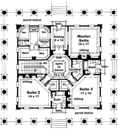 greek revival house plan with 1720 square feet and 3 home plans homepw76733 4 500 square feet 3 bedroom 3