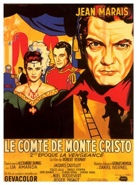 le comte de monte cristo 1954 film r 233 alis 233 par robert dantes on sad stories wuthering heights and chateaus
