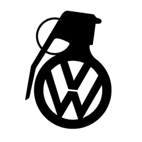 Auto Sticker Volkswagen by Vw Volkswagen Grenade Vinyl Decal