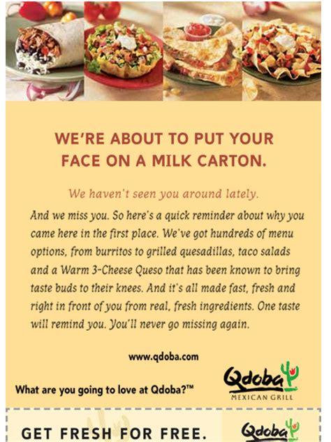 qdoba printable catering menu free restaurant printable coupons fast food restaurant