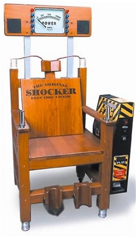 Electric Chair Arcade by Electric Shocker Chair Arcade Racing Simulators