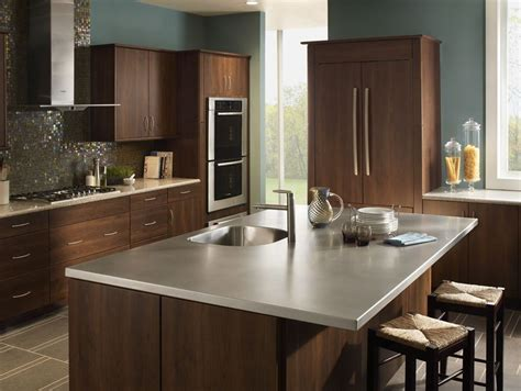 stainless steel kitchen island with seating stainless steel island home design