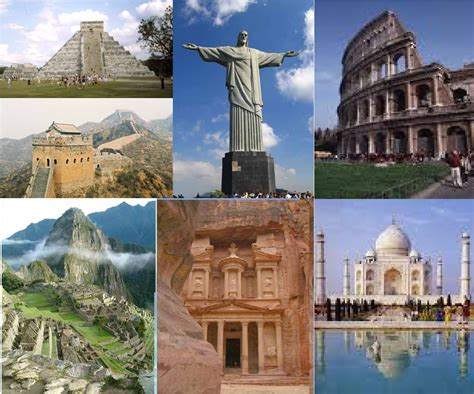 7 Architectural Wonders Of 2010 by Seven Wonders Of The World 2010 The Seven Wonders Of The