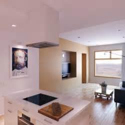kitchen with living room design decobizz com