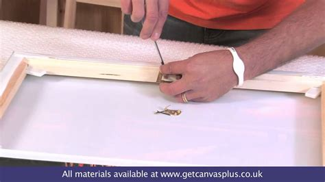 how to hang a canvas canvas hanging and canvas hanger kit how to youtube