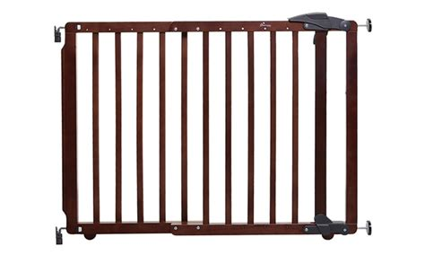 expandable gate dreambaby expandable wooden gate groupon goods