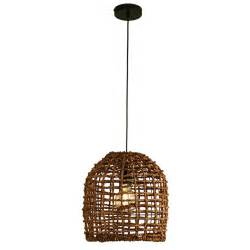 Wicker Pendant Light Searchlight Wicker Ceiling Pendant Light Brown Lighting Direct