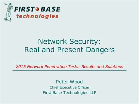 Network Security Officer by Network Security Real And Present Dangers