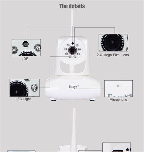 Easyn 10d Wireless Wifi Wps Ip P2p N View Kamera easyn 1080p p2p wifi ip with free uid view p2p wifi ip with free uid easyn