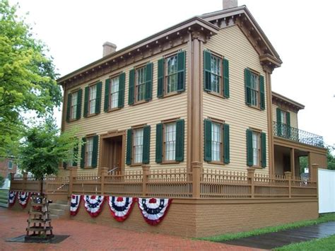 lincoln home national historic site springfield all