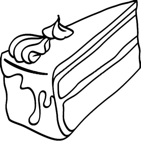 coloring pages of a piece of cake black forest cake slice coloring pages best place to color