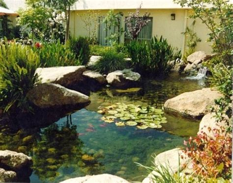 cool yard ideas 67 cool backyard pond design ideas digsdigs
