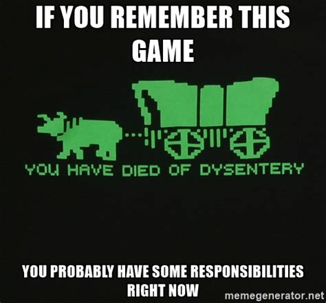 Oregon Trail Meme - nasa develops new hell resistant electronics for a mission