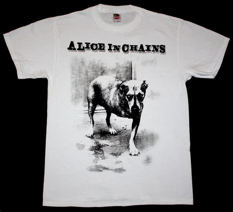 in chains grunge soundgarden bone l7 new white t shirt ebay